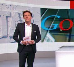 Google, le géant du web qui veut changer le monde. François-Xavier Ménage, présentateur de l'émission Capital sur M6.