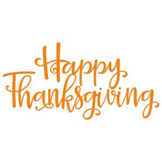 Silhouette Design Store: Happy Thanksgiving Title