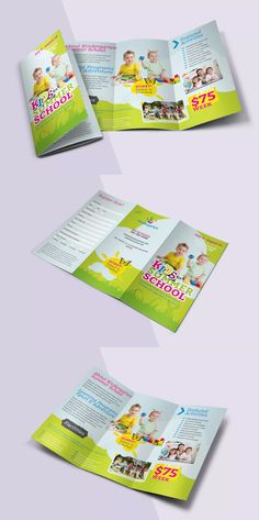 Tri Fold Brochure Template Ai Eps  A  Brochure Design