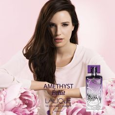 Amethyst Eclat Lalique perfume - a fragrance for women 2014 Lalique Perfume, Perfume Ad, Cosmetics & Perfume, Perfume Bottles, Haircut And Color, New Fragrances, Sprays, Hair Makeup, Amethyst