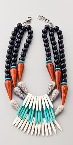 so crazy but i can't help but want it. ekat necklace by dannijo (of course). #swoon