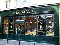 Paris, pharmacie, 36 rue des Francs-Bourgeois