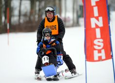 Adapted Skier at 2013 Winter Games