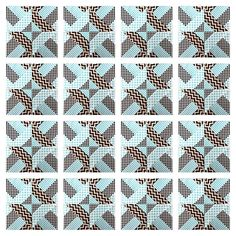 Quilt design - Easy block tutorial - from fabric strips to quilt block