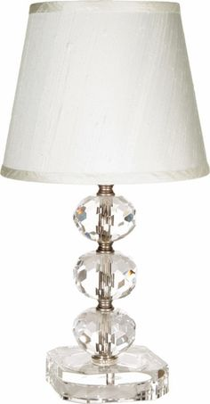 Clear Crystal Small Lamp