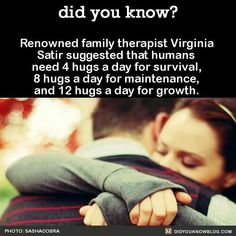 All you need is love & hugs.