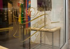 THE SPACE - TYPOGRAPHY & SIGNAGE on Typography Served
