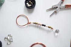 Made By Hand   Wooden Beaded Bubble Wands   Minnetonka Moccasin