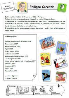 Fiche auteur Philippe Corentin