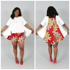 Si toi aussi tu veux être sapée comme jamais en Wax – CONFESSIONS D'UNE BEAUTY LOVEUSE Short African Dresses, African Print Dresses, African Print Fashion, African Fashion Dresses, Fashion Outfits, African Design, African Attire, African Fabric, International Fashion