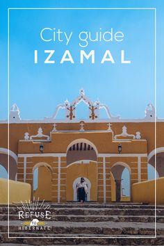 izamal city guide de la ville jaune