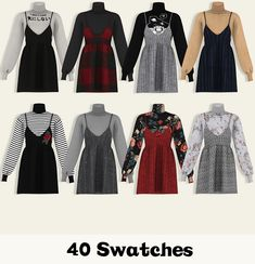 Sims ❤ 40 Swatches Shadow Map HQ Mod Suitable Customized Catalog Thumbnails Obtain (No Adfly) Sims 4 Mods Clothes, Sims 4 Clothing, Sims 4 Toddler Clothes, Sims 4 Cas, Sims Cc, Vêtement Harris Tweed, Sims 4 Game Mods, Sims 4 Characters, Sims 4 Dresses