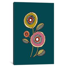 iCanvas Mariano 3 Gallery Wrapped Canvas Art Print by Sylvie