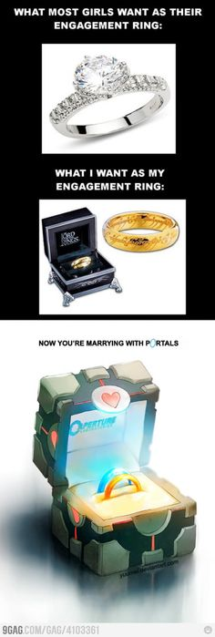 Marrying with Portals