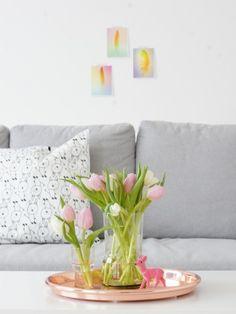 wohnzimmerdeko in kupfer und mint dekoration pinterest deko. Black Bedroom Furniture Sets. Home Design Ideas