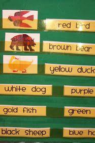 Doodle Bugs Teaching {first grade rocks!}: Brown Bear, Brown Bear