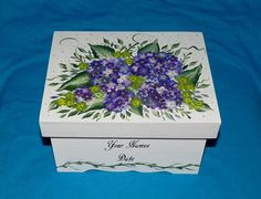 Hand Painted Wedding Keepsake Box Wood Personalized Guest Book Box Purple Gift Card Box Hydrangeas B Wedding Gift Card Box, Wedding Keepsake Boxes, Gift Card Boxes, Wedding Keepsakes, Wedding Boxes, Wedding Cards, Graduation Card Boxes, Personalized Bridesmaid Gifts, Wedding In The Woods