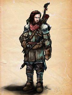 Pathfinder RPG Fighter Concept by ~RazariK on deviantART