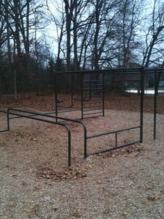 We had this exact jungle gym at school!!