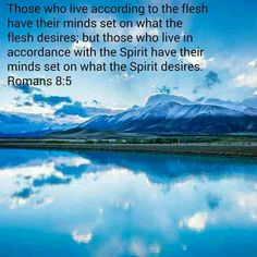 Romans 8:5