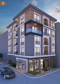 Stanch Properties is a construction company with diversified operations in to General and IndustrialCivil contracts, Power Transmission Lines, Electrical Sub-stations and Residential Apartments Building Exterior, Building Facade, Building Structure, Mix Use Building, Building Design, Facade Design, Exterior Design, House Front Design, Facade Architecture