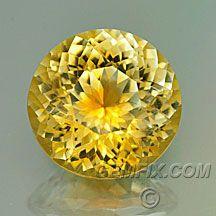 Happy sunshine yellow Montana sapphire