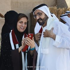 from Nov 2014 w/ HE Sheikha Lubna Al Qaimi, Min of Int'l Coop and Dev PHOTO uaegov Sheikh Mohammed, Soul Connection, Dubai Fashion, World Leaders, Family Pictures, Prince, Father, King, Projects