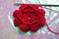 FREE Crochet Patterns: FREE Crochet Flower Pattern - Easy 3 layer Large Crochet Flower