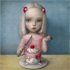 La Marelle `Kaart Nicoletta Ceccoli Eye Candy`