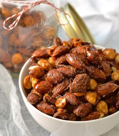 Vegan Candied Nuts
