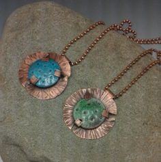 copper pendants with no soldering