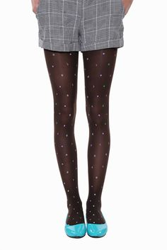 Cute Candy Fruits Tights In Black. Free 3-7 days expedited shipping to U.S. Free first class word wide shipping. Customer service: help@moooh.net