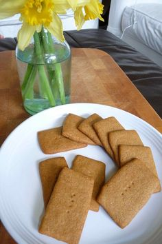 honey graham cracker cookies via the nourishing home (i am now one step closer to a smore...thanks!!)