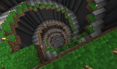 Pix For > Minecraft Spiral Staircase Design