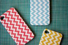 Chevron iPhone covers