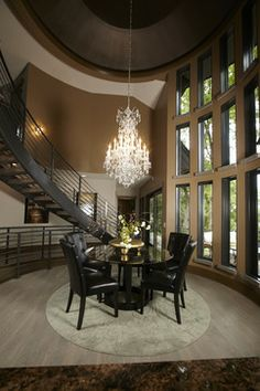 Dining room - gorgeous - architectural details | Highmark Builders