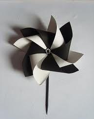 Fabriquer un moulin à vent en papier | Agencema