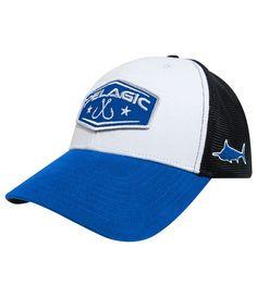 new styles 26334 4472e NEW Pelagic Diamond Vented Hat Cap Blue One Size Blue Black White  Adjustable NWT  fashion
