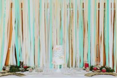 Filosophi Events and Design   @grace_ormonde @wedding_style   The streamers really make it pop!