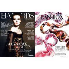 HARRODS MAGAZINE July / August 2012