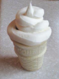 Mini Ice Cream Cone Cupcakes
