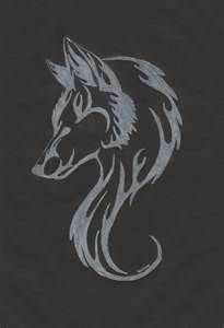 White Wolf Tattoo Flame Tattoos