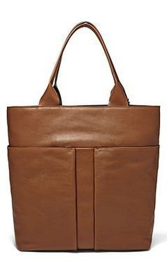 The Mathilde Leather Tote — #CommuteInStyleContest [Promotional Pin]
