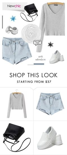 """Newchic I: COMFY CASUAL"" by paradiselemonade ❤ liked on Polyvore featuring casual, Sweater, shorts and newchic"