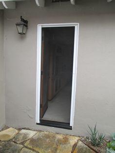 1 Front Door StowAway Retractable Screen in Irvine, California ...