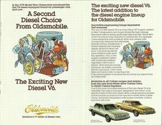 A Second #Diesel Choice from #Oldsmobile  January 2, 1982  8 pages, hi-res at http://carsandracingstuff.com/library/o/oldsmobile_seconddieselchoice.php