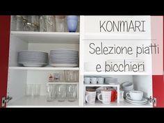 Selezione piatti e bicchieri- Marie Kondo - YouTube