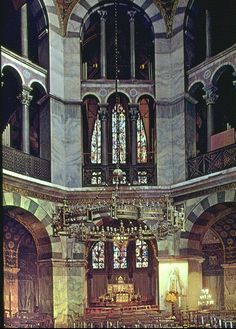 Palace Chapel of Charlemagne, Aachen, 800