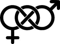 Tattoo design behind the ear-bisexual symbol Pride Tattoo, Symbol Tattoos, I Tattoo, Tatoos, Arrow Tattoos, Symbol Logo, Bisexual Symbol, Bisexual Pride, Laura Lee