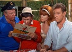 Skipper, Gilligan, Ginger & The Professor...The Mosquitos leave the island without them